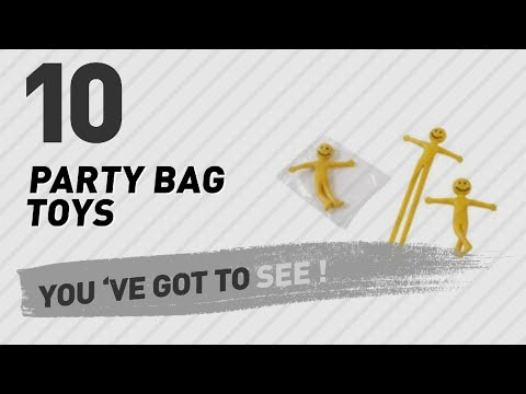 Party Bag Toys, Uk Top 10 Collection // New & Popular 2017