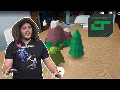 Google Unveils ARCore | Crunch Report