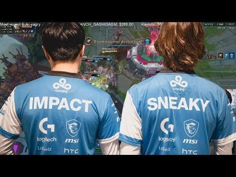 Sneaky and Impact funny moments - Moooo