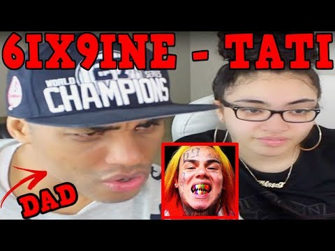 MY DAD REACTS TO 6IX9INE Tati Feat. DJ SpinKing REACTION