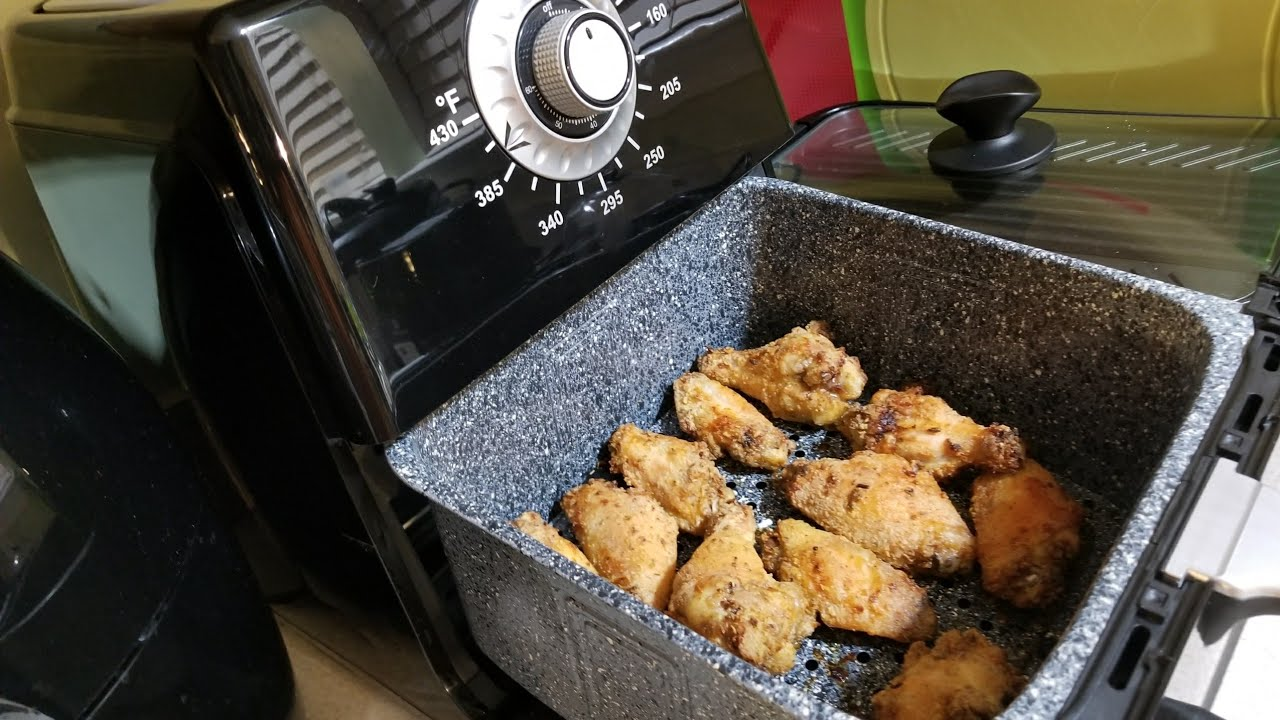 Air Fryer Kick'n Chicken Wings 8.5qt Paula Deen Airfryer