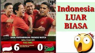 Cuplikan Lengkap 6 GOL Kemenangan Indonesia VS Vanuatu