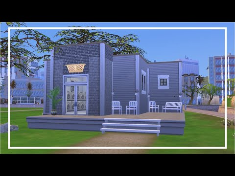 LAUNDROMAT - the sims 4: speed build |