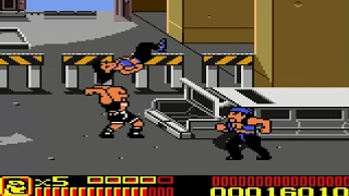 WWF/WWE Betrayal - The Rock Playthrough (Game Boy Color)