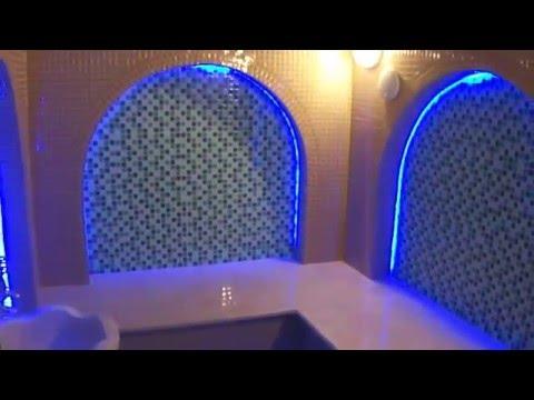 Строительство турецкой бани хамам в доме банный комплекс СПА