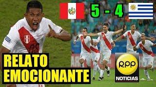 Penales Perú (5) - (4) Uruguay || Relato Emocionante RPP - Gino Bonatti y Diego Rebagliati