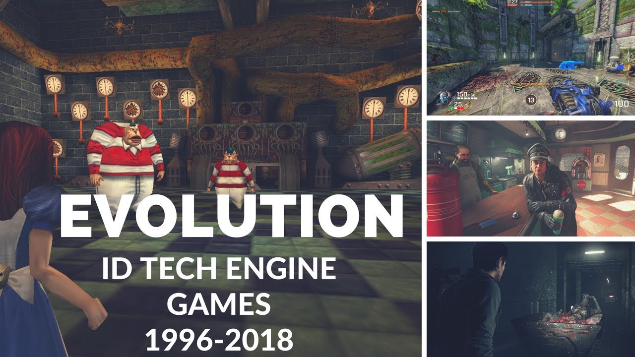 Evolution of ID Tech Engine Games 1996-2018