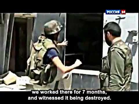 The Syrian Diary Russian Documentary from TV Rossiya 24 on Events in Syria (English Subtitles)
