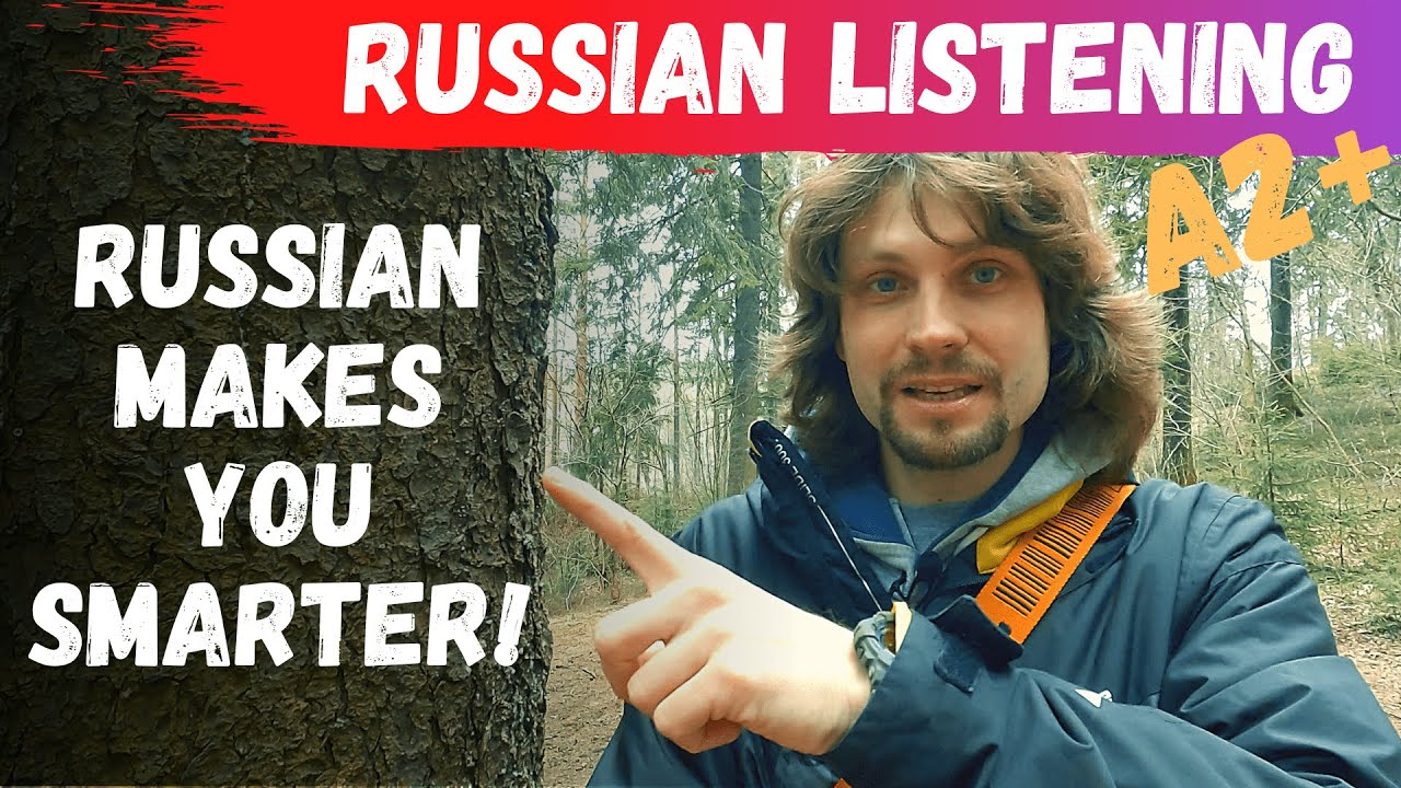 Why Learning Russian Can Make You Smarter (Listening practice Ru\En subs)