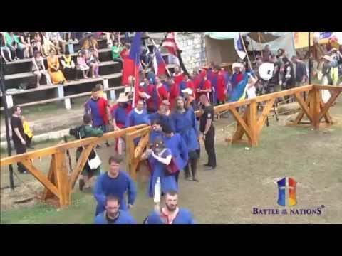 """Close Ceremony. Day 4. """"Battle of the Nations"""" - 2014. Croatia, Trogir"""