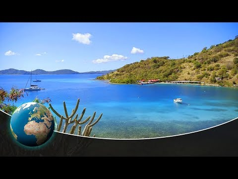 Lovely British Virgin Islands - Caribbean, crown and crab racing