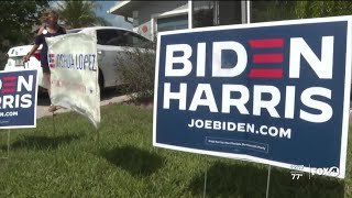Biden yard signs stolen from Cape Coral home