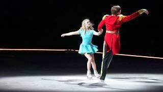 Анастасия Мартюшева и Константин Гаврин в ледовом шоу Щелкунчик Плющенко. Санкт-Петербург