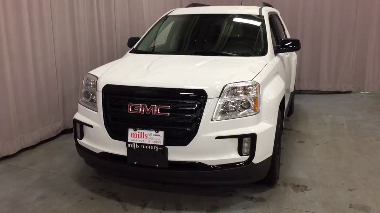2017 Gmc Terrain Sle Awd Pioneer Audio System White Oshawa On Stock 170612 You