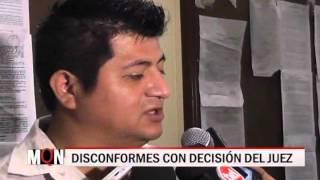 07/10/2015-20:22 DISCONFORMES CON DECISIÓN DEL JUEZ