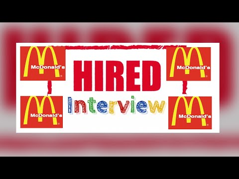 How To Get Hired At McDonald's +Interview Question + Things To Wear To An Interview