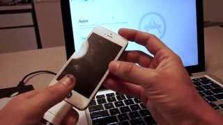 Force iTunes Restore iPhone, iPad DFU Mode