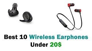 Best 10 Wireless Earphones Under 20$ (Top 10 Earbuds From Aliexpress)