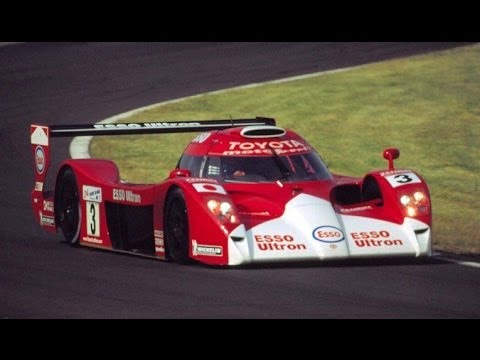 toyota gt one a lap of the le mans track youtube. Black Bedroom Furniture Sets. Home Design Ideas