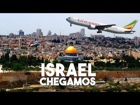 COMO É VOAR PELA ETHIOPIAN AIRLINES - CHEGANDO EM ISRAEL | ISRAEL 01