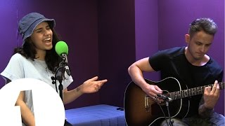 Live and wild! Alessia Cara performs