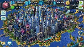 SimCity BuildIt - Building 2 big, strong regions