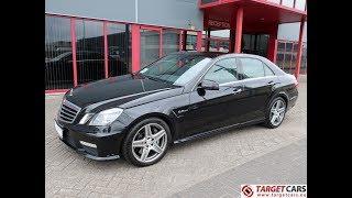 751154 MERCEDES E63 AMG SEDAN W212 6.2L V8 525HP AUT 08-10 BLACK 102392KM LHD