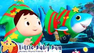 鲨鱼宝宝 嘟嘟嘟 - 圣诞节篇 +更多儿童歌曲   圣诞儿歌   精选合集   宝宝儿歌   童谣   儿歌   乐宝宝   Little Baby Bum