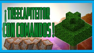 Comandos - Treecapitator Mod - Vanilla 1.8 Minecraft
