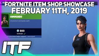 Fortnite Item Shop COMMANDO IS BACK! [February 11th, 2019] (Fortnite Battle Royale)
