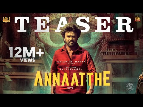 Annaatthe - Official Teaser | Rajinikanth | Sun Pictures | Siva| Nayanthara, Keerthy Suresh| D.Imman