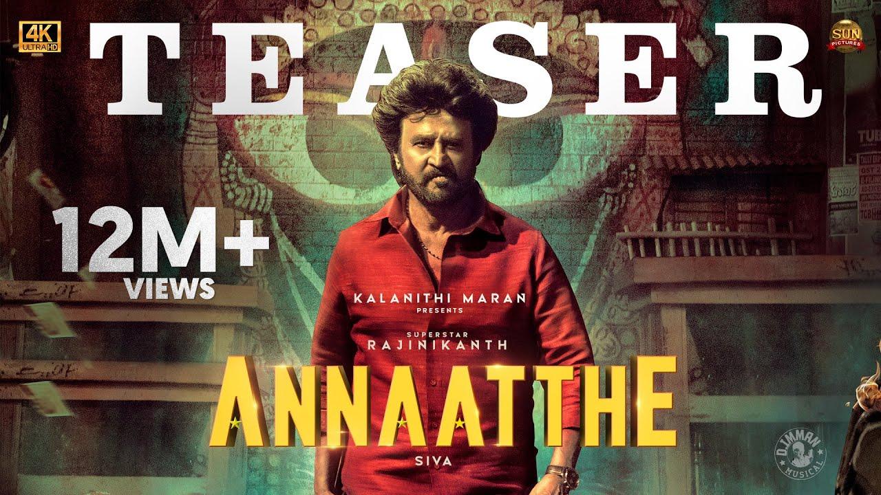 Download Annaatthe - Official Teaser   Rajinikanth   Sun Pictures   Siva  Nayanthara  Keerthy Suresh  D.Imman