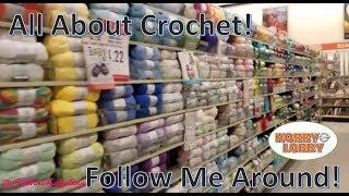 Follow Me Around Craft Stores! Hobby Lobby