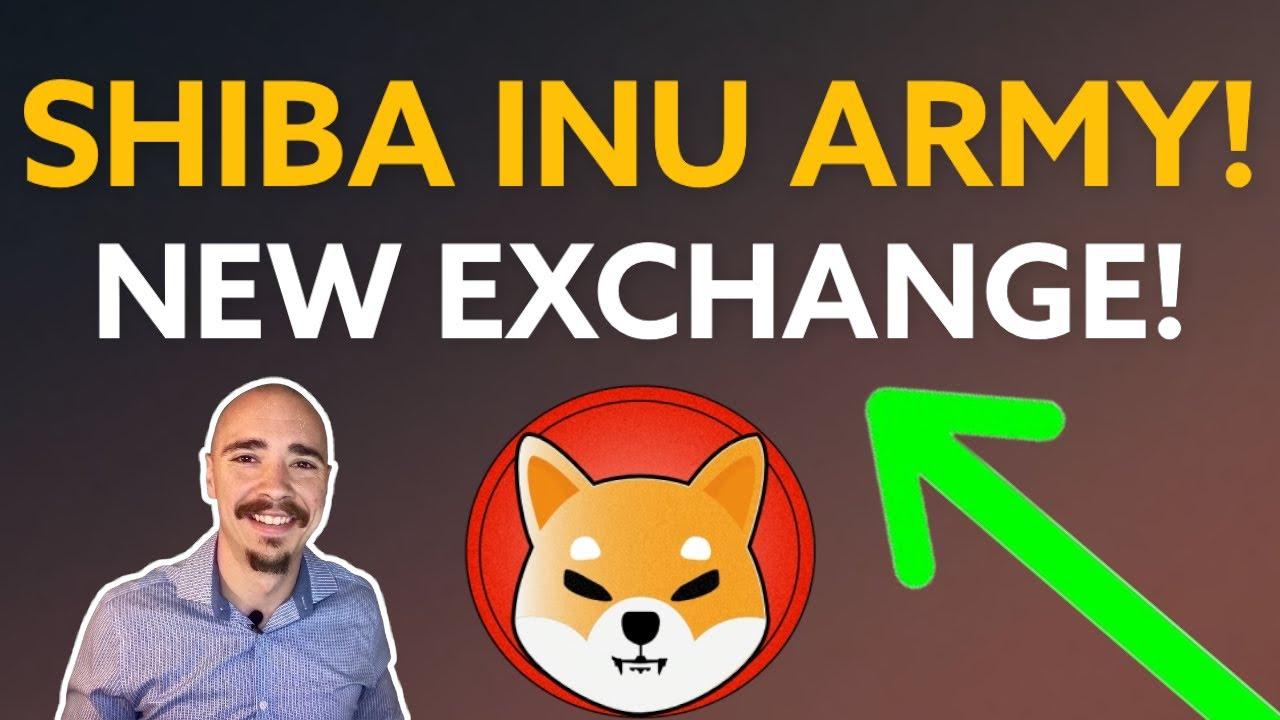 Download SHIBA INU ARMY! NEW EXCHANGE LISTING!