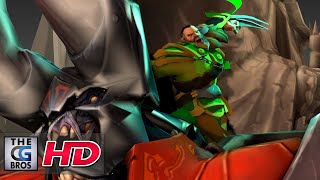 "CGI 3D Animated Short: ""Lycan The Slayer ( A Dota2 Fanmade Animation)""  - By Alireza Sedghi"