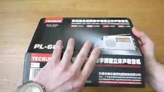 Розпакування (Unboxing) TECSUN PL-660