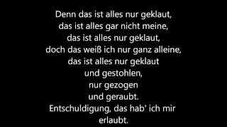 Скачать Die Prinzen Alles Nur Geklaut Lyrics