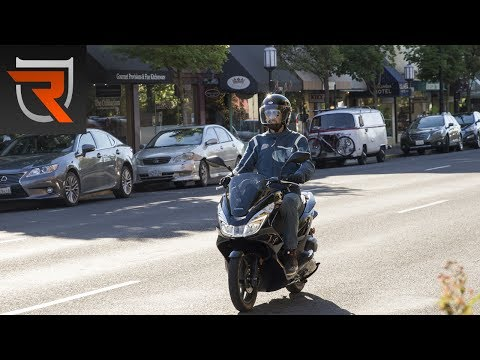 Honda PCX150 Scooter First Test Review Video | Riders Domain