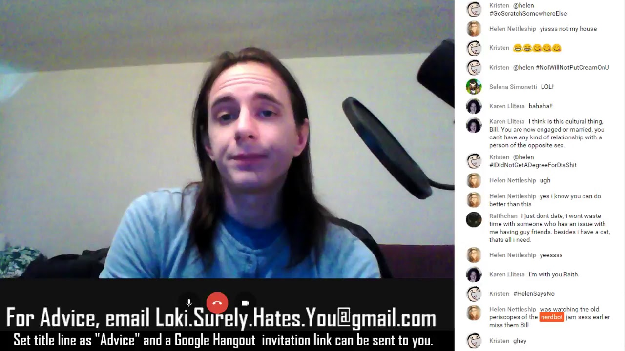 Gmail live themes - Live Terrible Advice With Loki Hates You Feb 27th 2017 May Contain Adult Language And Themes