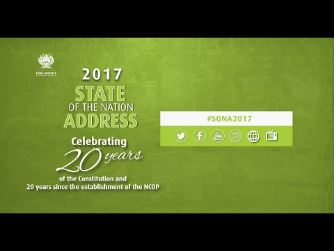 State of the Nation Address: Joint Sitting, 9 February 2017, 7pm