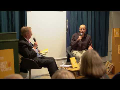 "George Williams - ""A Charter of Rights for Australia"", in conversation with the Hon. Michael Kirby"