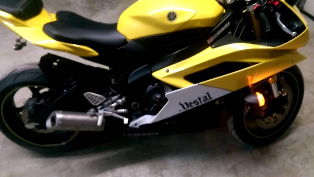2006 Yamaha R6 50th anniversary edition - YouTube