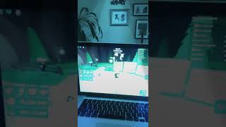 By myself playing ROBLOX!! But friend over *he can't be on YouTube *