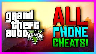 GTA 5 Xbox One / PS4  - ALL New Phone Cheat Codes! Enter Cheats Through Your Phone! (GTA V)