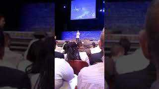 소향. 브루클린 교회에서 SoYang singing at Brooklyn Church