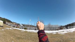 How to throw the So Delicious Popsicle stick boomerang by Victor Poulin