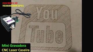 Mini Gravadora CNC laser caseira thumbnail
