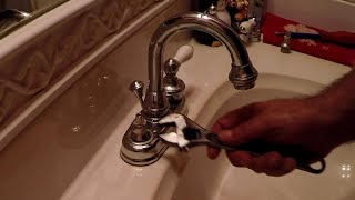 HOW TO FIX A LEAKY DRIPPING WATER FAUCET