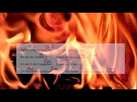 Durch die schweren Zeiten-Udo Lindenberg - Lyrics and Chords -Campfire Version - Musikschach