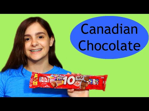 What's In The Bag Candy Review - Canadian Chocolates